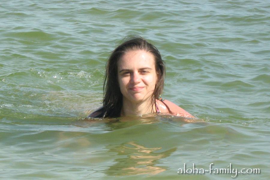 Азовское море в мае - отличная погода для купания и вода +20!