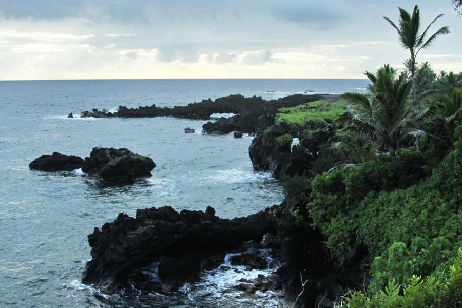Остров Мауи - Waianapanapa State Park