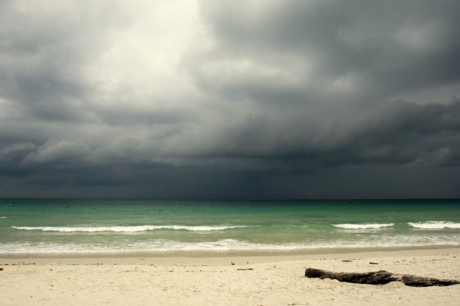 Море перед дождём на Ко Самуи