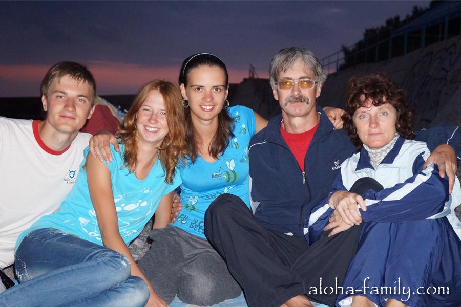 Отдыхаем в Кацивели с родителями и сестрой