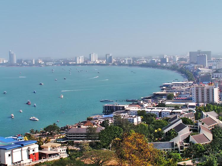 Паттайя - один из главных курортов Таиланда