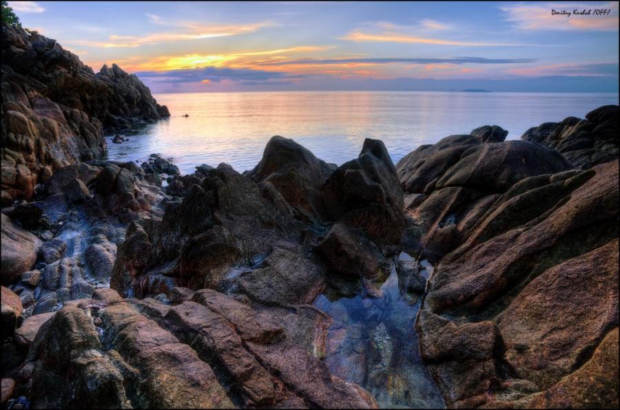 Живописный берег Пангана