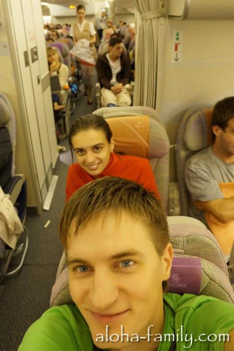 Дубаи - Бангкок 15 октября 2012 года: полёт нормальный! ;-)