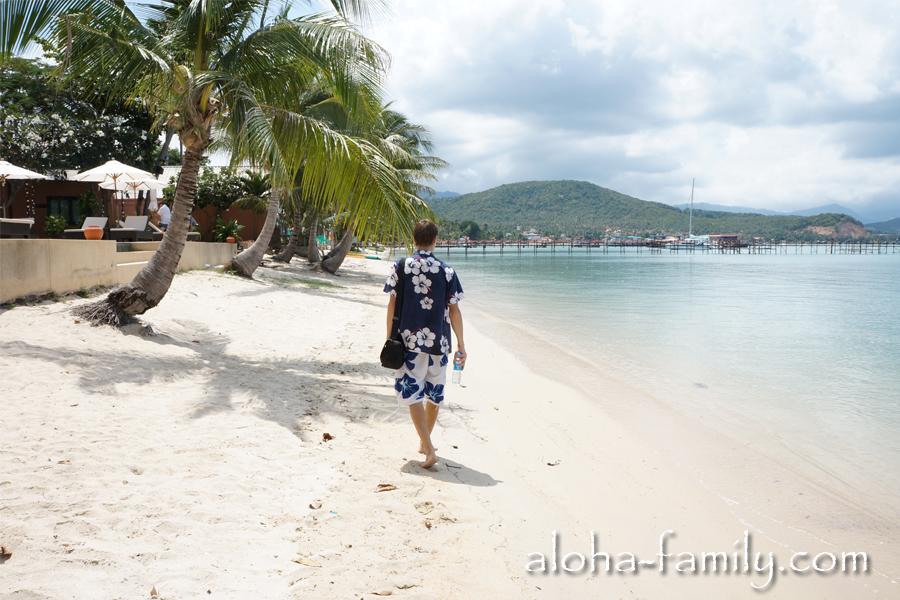 Пляж Банг Рак - наш первый день на Самуи!
