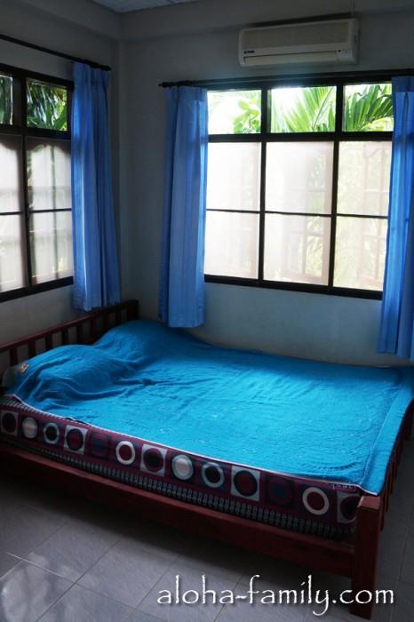 Наш дом на Самуи - спальня