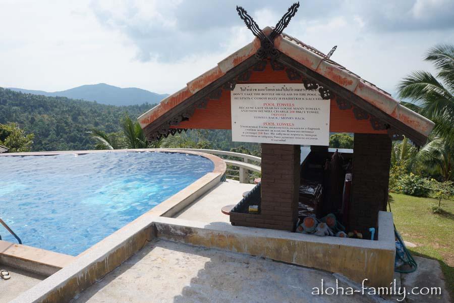 Бесплатные полотенца в Paradise Park Samui