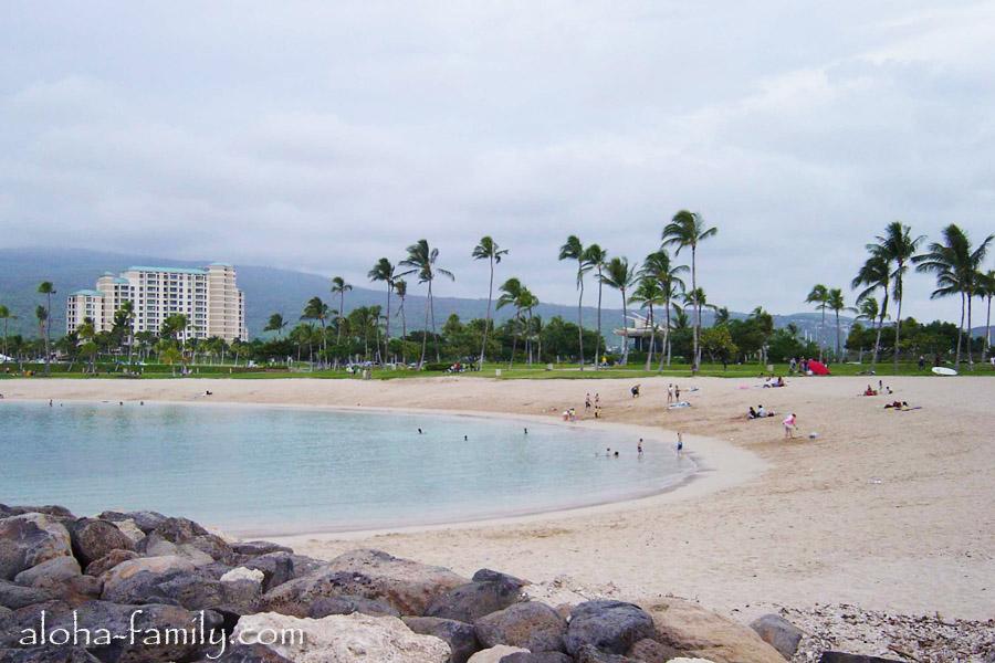 Одна из последних в 2003 году вылазка на пляж Ko Olina - Kapolei, Hawaii