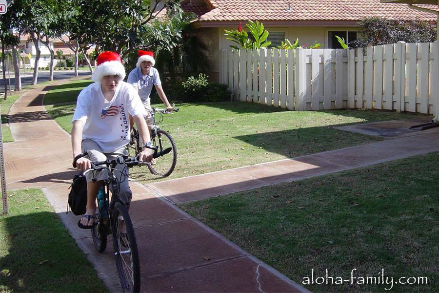 """""""Вело-деды морозы"""" - так я назвал эту фотку в 2003 году! В)"""