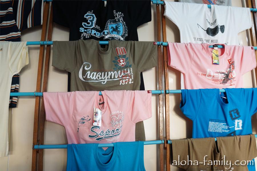 Верьте или нет, но эту футболку продают в Донсаке за 130 бат