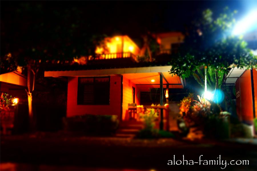 Wanghin Bungalow - наш домик ночью
