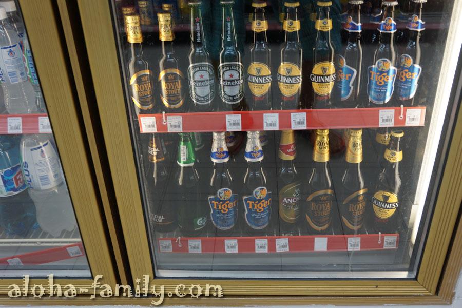 Дорогое пиво в Малайзии