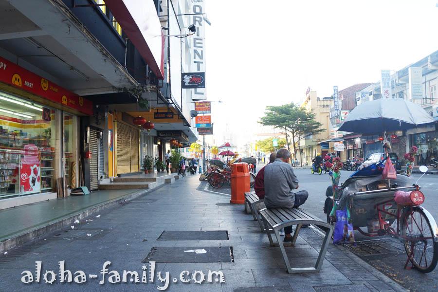 Джорджтаун - одна из небольших улиц в 9 утра только просыпается...