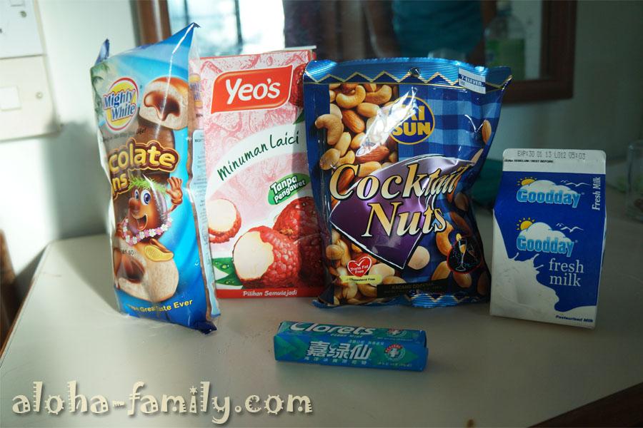 Покупки перед завтраком в Малайзии))