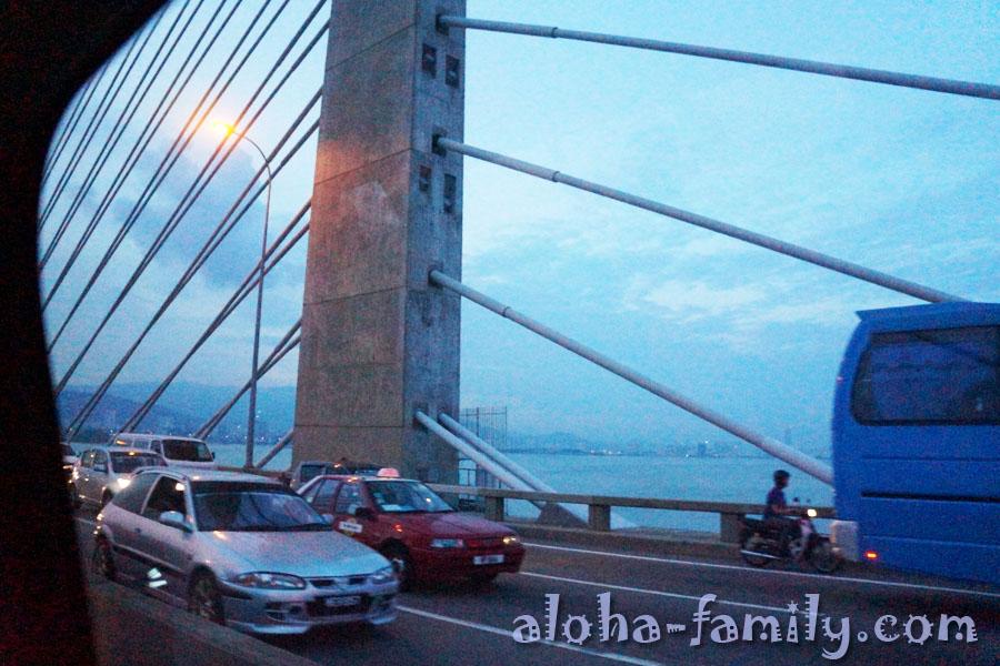 Пинангский мост действительно впечатляет!