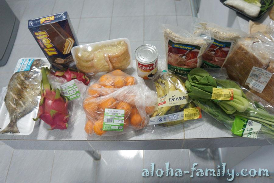 Последний раз в 2012 купили домой еды)))