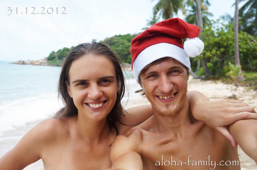 Семейное фото Aloha family :-)