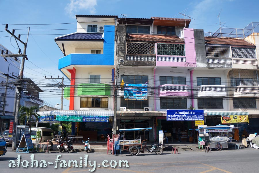 Хат Яй - здания возле автовокзала