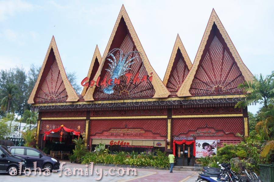 Тайский ресторан на Бату Ферринги, остров Пинанг