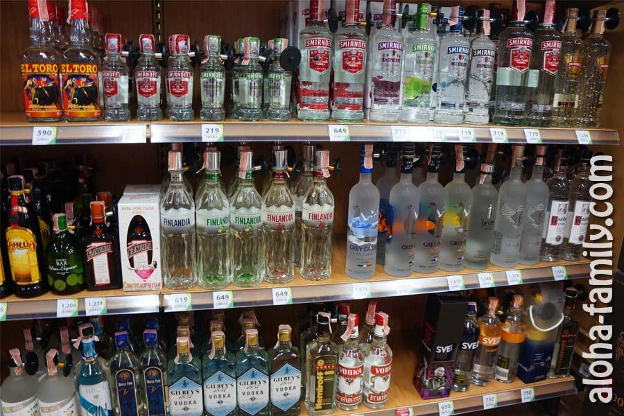 Алкоголь на Самуи