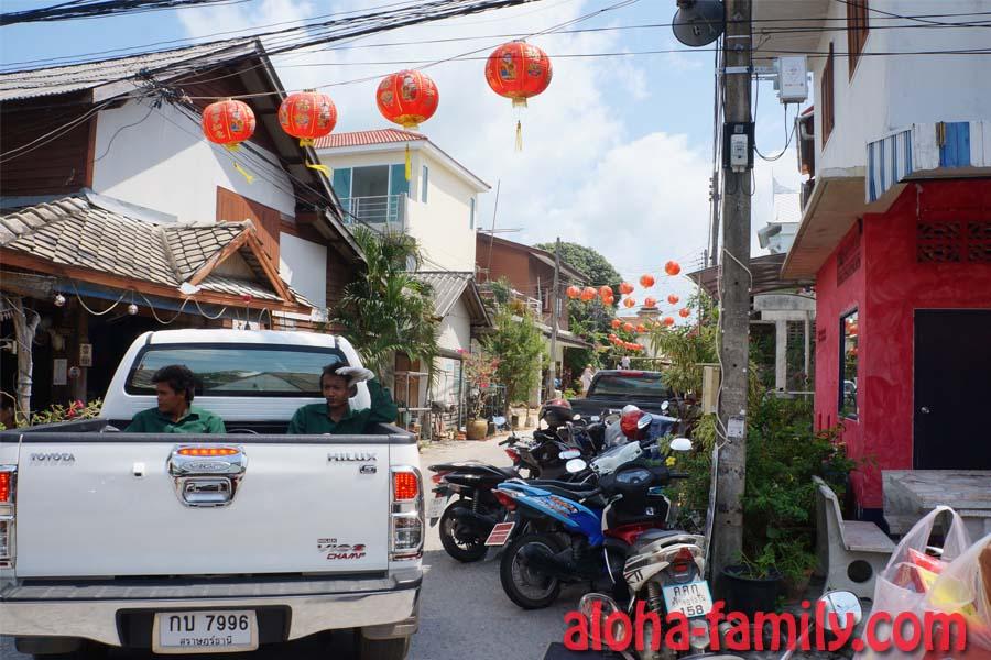 Интуитивно двигаемся в сторону китайского храма