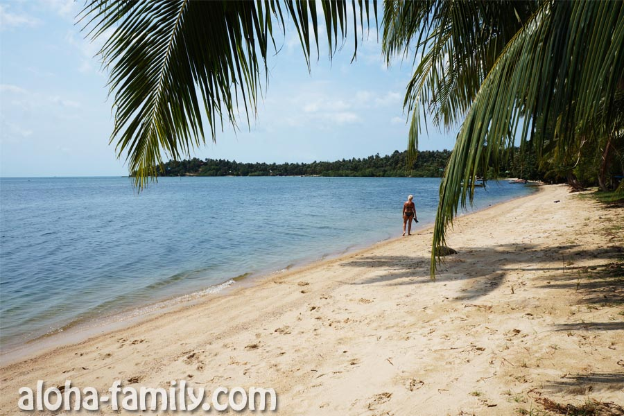 Пляж Ao Hin Kong на Пангане