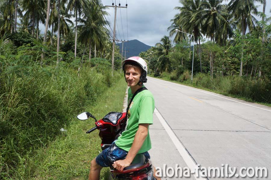 Продолжаем путь на север острова Панган