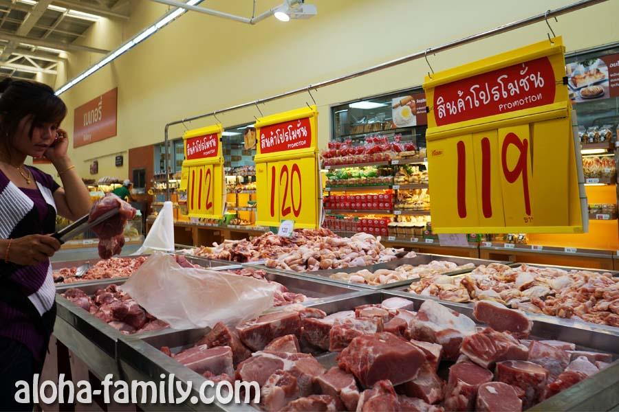 Свинина на Самуи - лучше всего брать в Макро или Теско