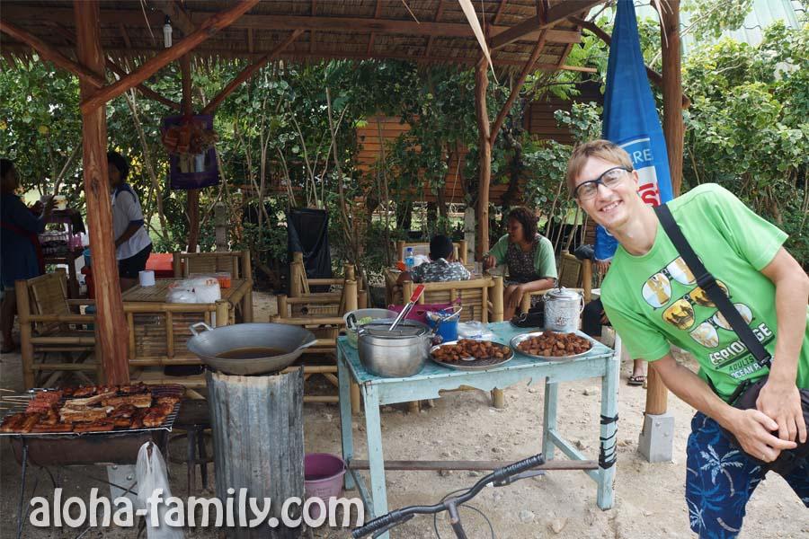 Thai style кафе - очень вкусная еда на Пангане