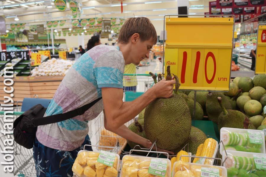 Цены на продукты на Самуи и во всём Таиланде