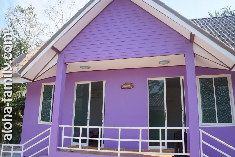 Цветные дома в Ао Нанге возле трассы по 10 тысяч