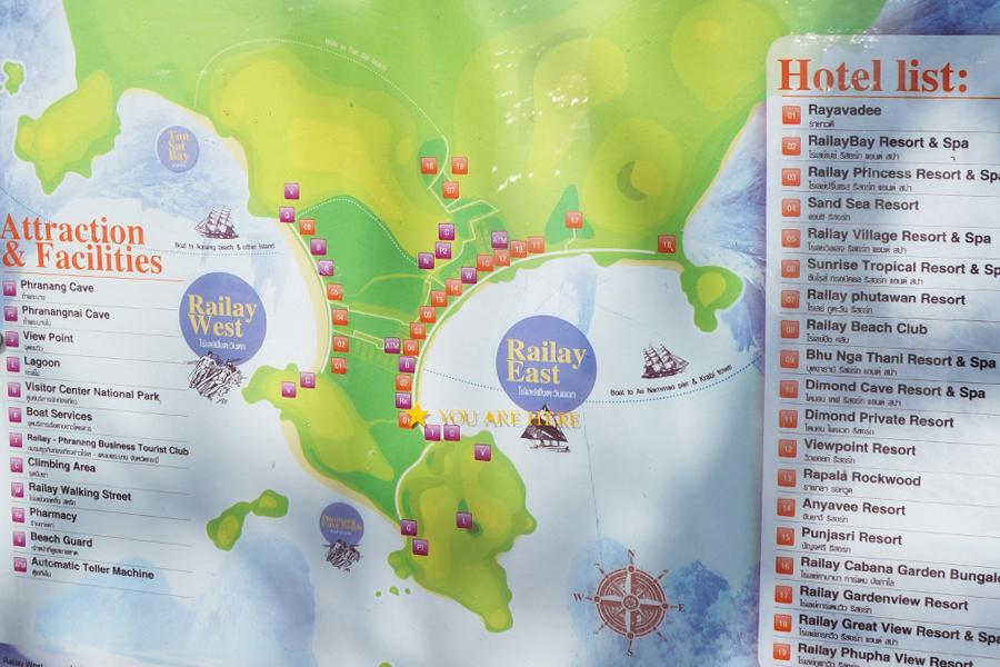 Карта Рэйли