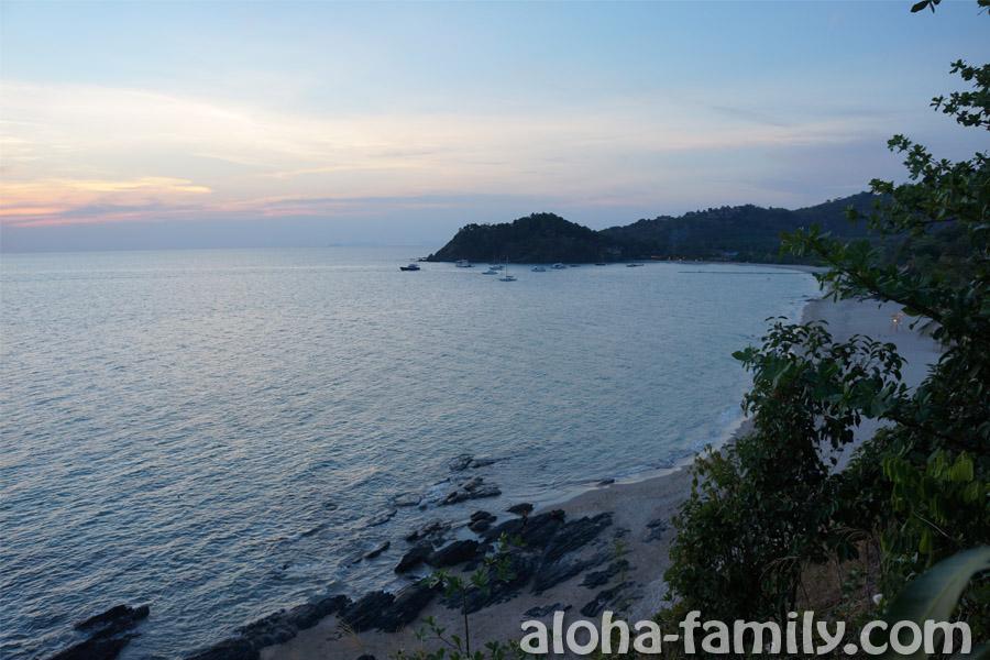 Один из пляжей Ланты на закате - название не подскажу