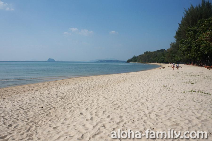 Пляж Tub Kaek в 20 км от Ао Нанга