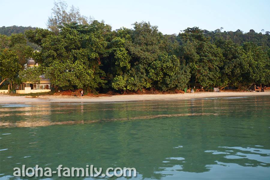 Пляж Таб Каек - вид с моря без фотошопа!