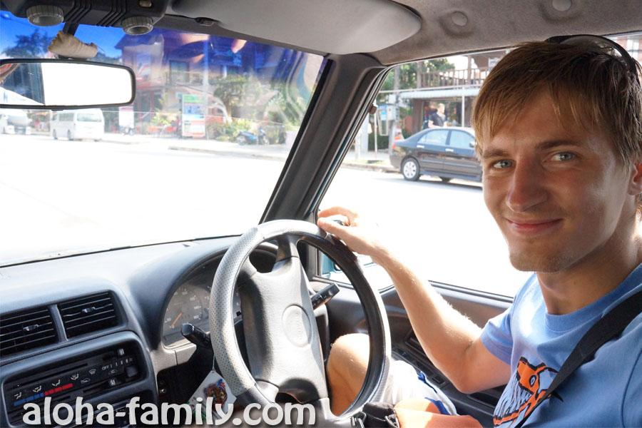 Правый руль, большие габариты авто и коробка автомат - новые ощущения в Таиланде