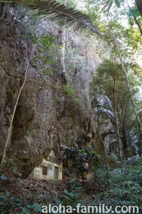 Аутентичное отшельническое жильё буддистского монаха