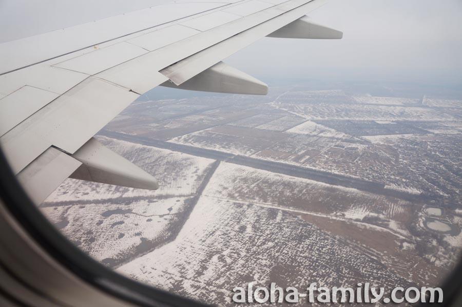 Где-то под Киевом впервые в 2013 году увидели снег (апрельский))))