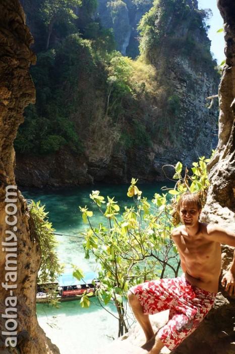 Остров Poda - вид с малоизвестной скалы