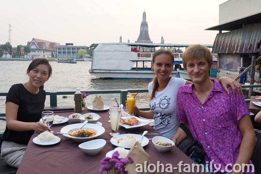 Отмечаем приближение последней ночи нашего прибывания в Таиланде