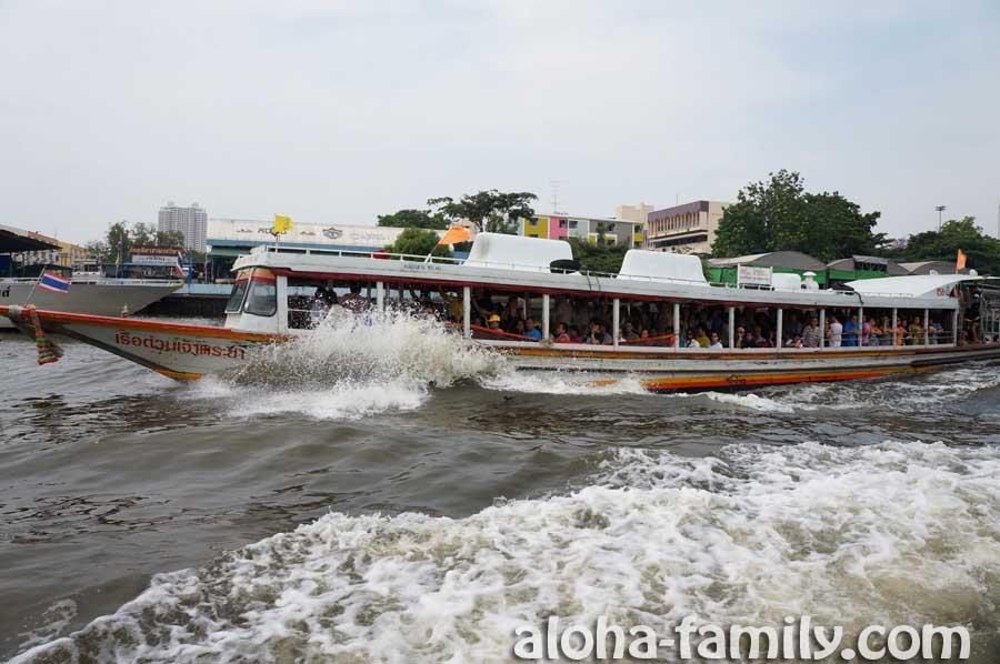 Речка Чаупхрая в Бангкоке