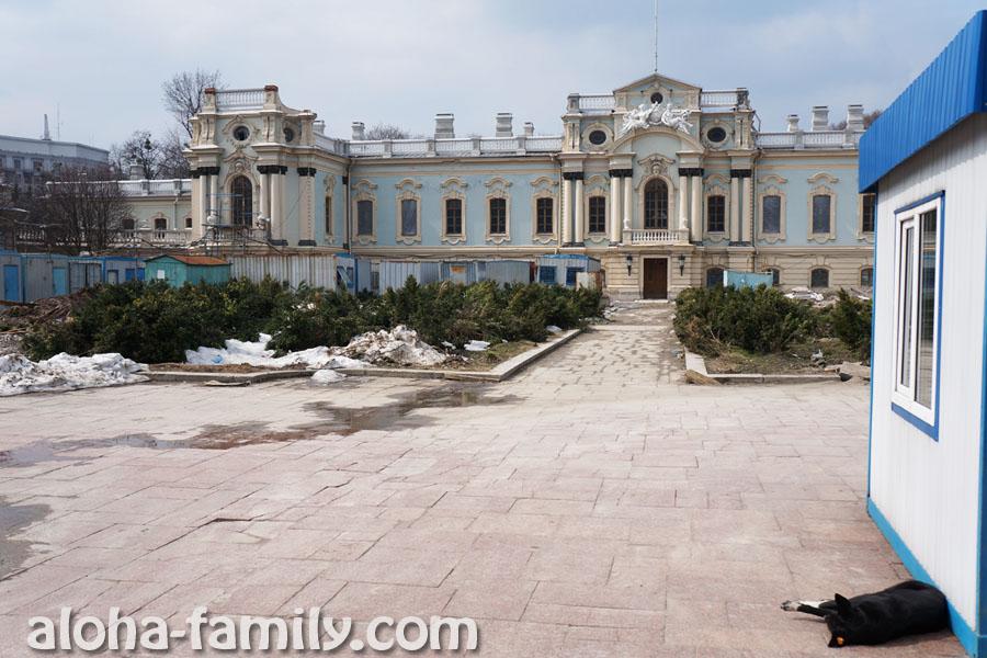 Реконструкция Мариинского дворца в Киеве
