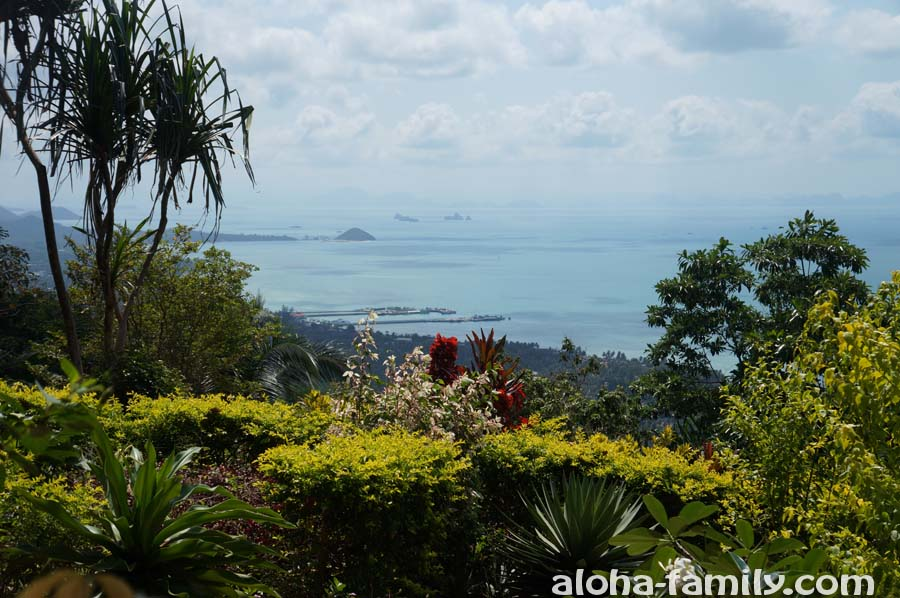 Смотровая площадка Самуи - вид на столицу острова Натон и западный берег Самуи