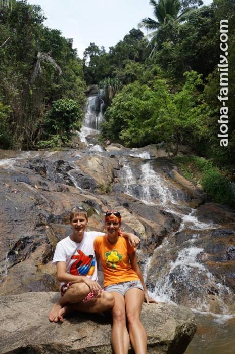 80-метровый Na Muang Waterfalls 2