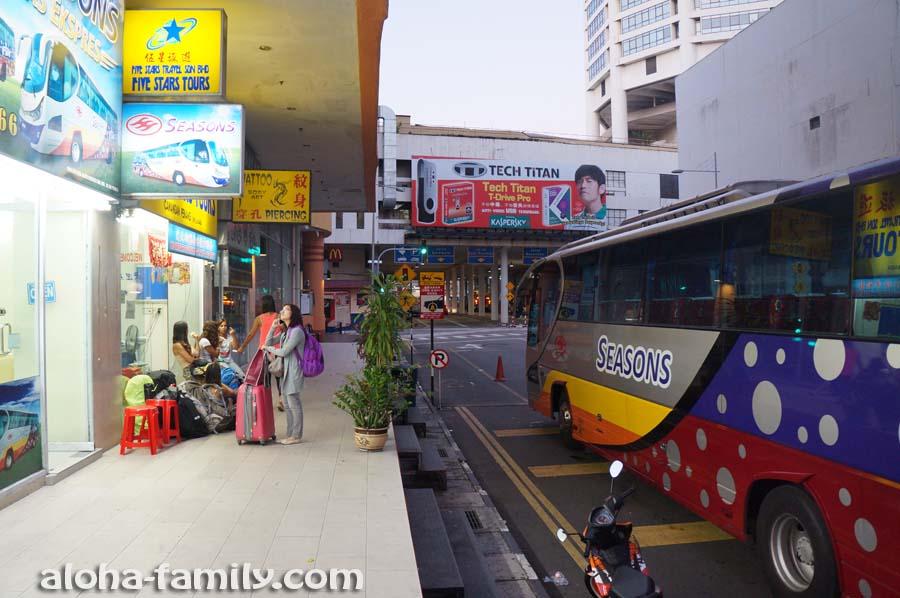 Как не нужно ехать из Малайзии в Таиланд