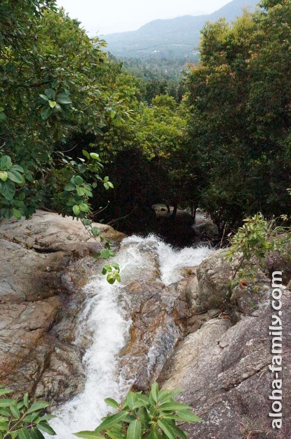 И вот она - вершина 80-метрового водопада