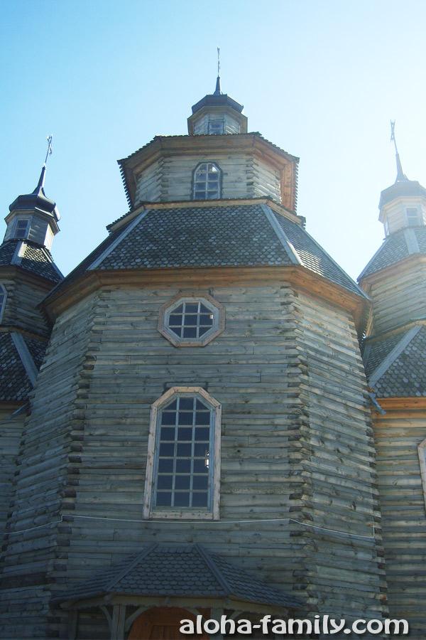 Казацкая церковь на острове Хортица