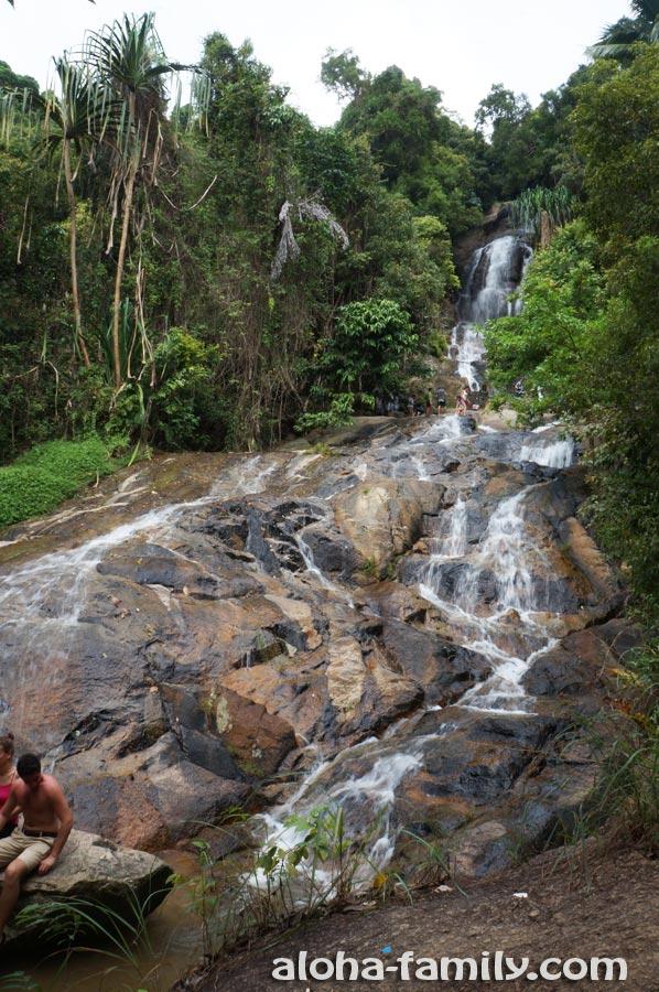 Водопад Na Muang 2 - гордость острова Самуи