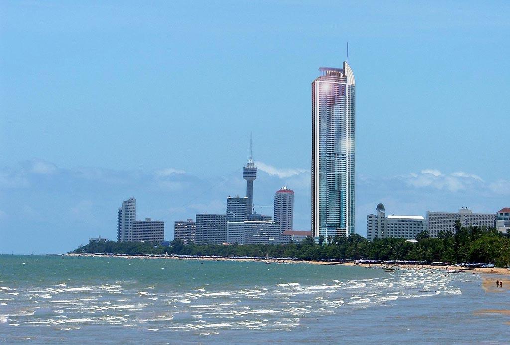 367-метровый небоскрёб Ocean 1 Tower в Паттайе будет выглядеть вот так (в 2016 году)
