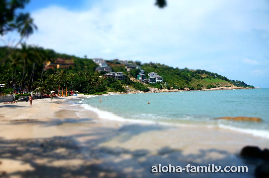 Пляж Thongson Bay на Самуи