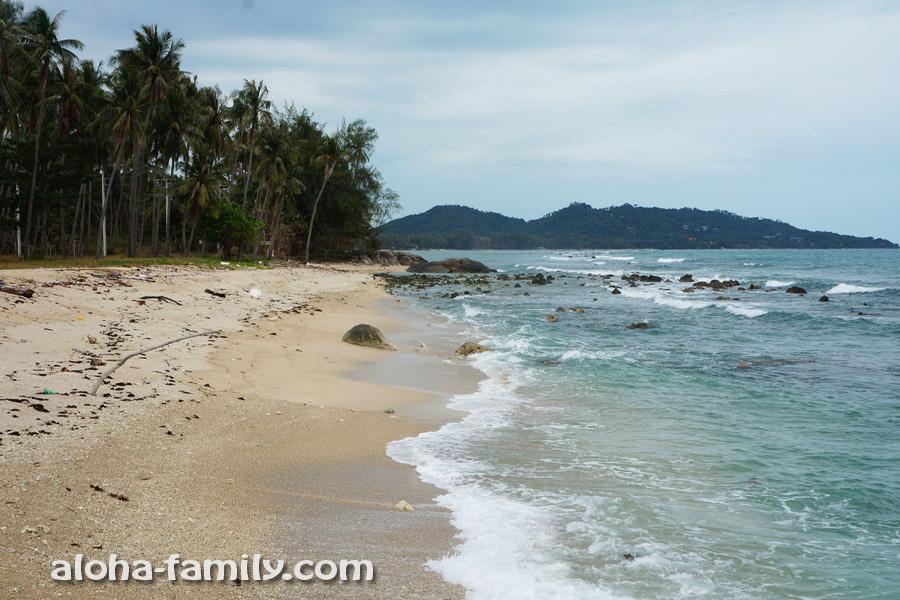 Самая южная точка Самуи возле Laem Sor Pagoda (пляж Банг Као)